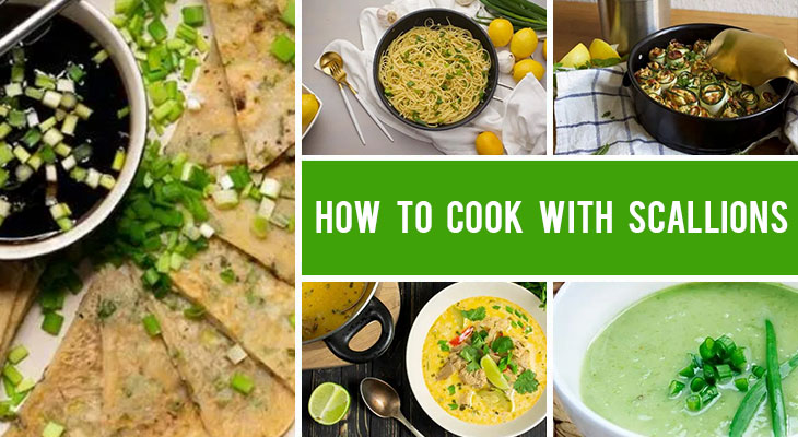 How to Cook with Scallions | 10 Recipes with Green Onions