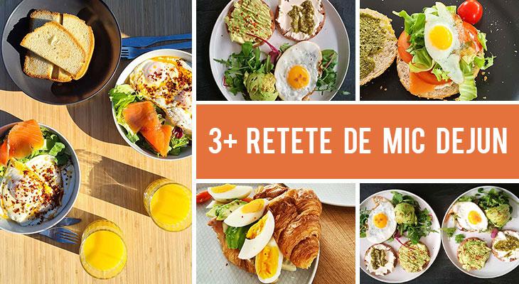 3+ Retete de mic dejun pentru dimineti cu prietenii