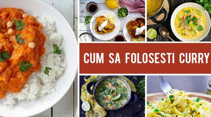 Cum sa folosesti curry in retete