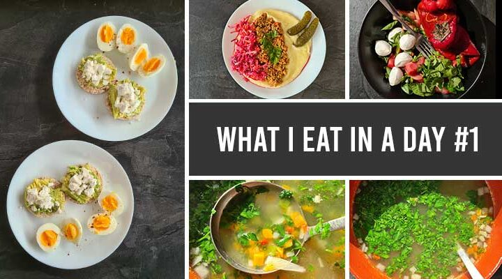 what i eat in a day 1
