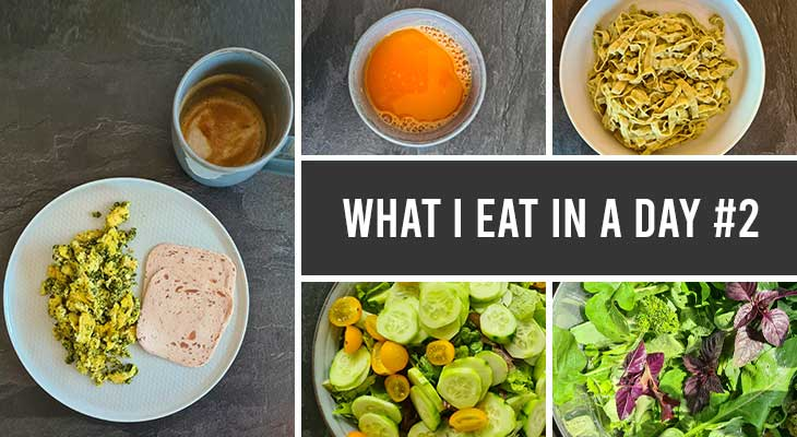 what i eat in a day 2