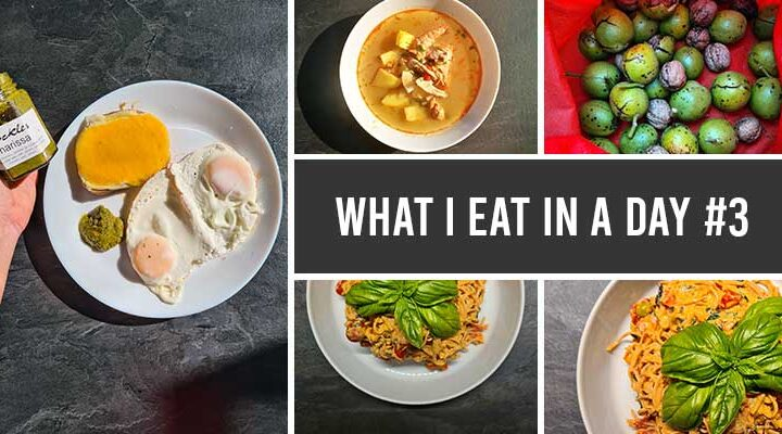 what i eat in a day 3